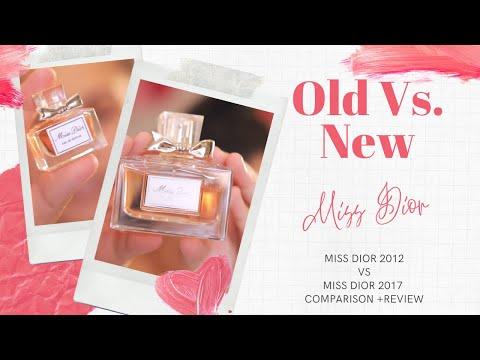 Old vs. New  Miss Dior Eau De Parfum 2012 vs. 2017  Side by Side Comparison