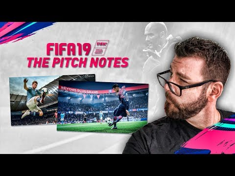 FIFA 19 NEWS - THE PITCH NOTES! 50/50 BATTLES! DYNAMIC TACTICS EXPLAINED! - My Analysis