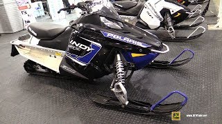 6. 2018 Polaris Indy SP 600 Sled - Walkaround - 2017 Toronto Snowmobile ATV Show