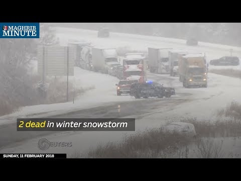 A major winter storm pounding the Midwest has turned deadly.