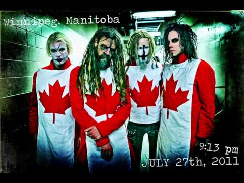 Rob Zombie Dragula Winnipeg 2011 -Audio Only- [Hell On Earth Tour]
