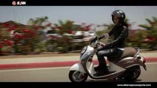 5. Official SYM Mio 50 Scooter Video - Distributed by AlliancePowersports.com