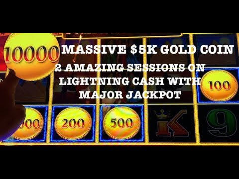 (2) MASSIVE HANDPAYS LIGHTNING LINK WITH 10K CREDIT GOLD COIN ⭐️(2) MAJOR JACKPOTS ⭐️DRAGON LINK ⭐️