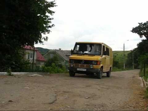 Główna droga w Chyrowie (Хирів)