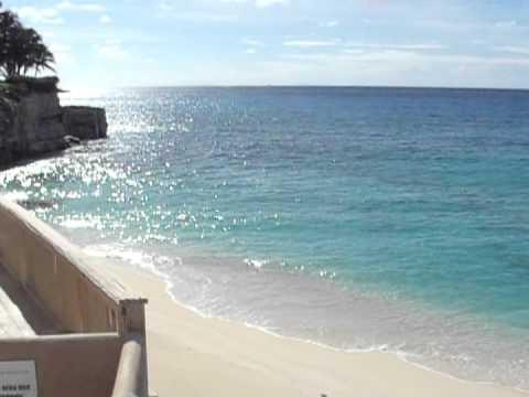 Cupecoy Beach, St Maarten December 1,  2012