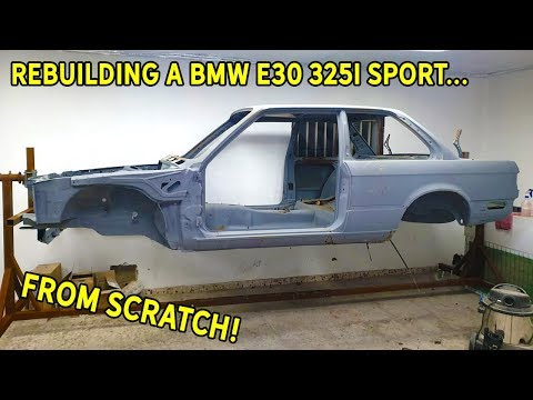 Rebuilding A BMW E30 325i Sport | Part 1 - Making The Chassis Great Again