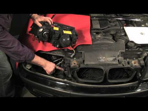 BMW Headlight Replacement and Angel Eyes Upgrade, Part 1 of 2