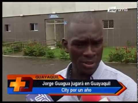 Jorge Guagua jugará en Guayaquil City por un año