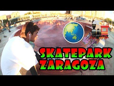 PATINANDO EN ZARAGOZA - SKATE TRIP | Filmer Sk