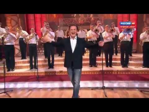 Духовой Оркестр Олега Меньшикова в шоу 'Танцы со звездами', канал Россия, 2013 год
