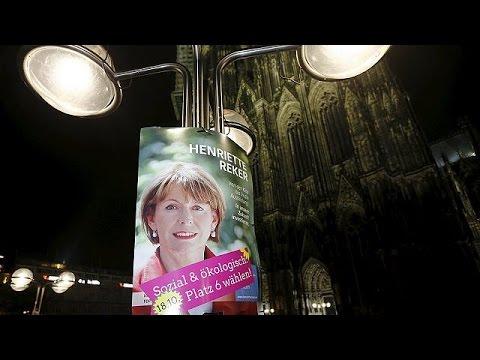 Δήμαρχος της Κολωνίας η Χενριέτε Ρέκερ, η γυναίκα που δέχτηκε επίθεση με μαχαίρι