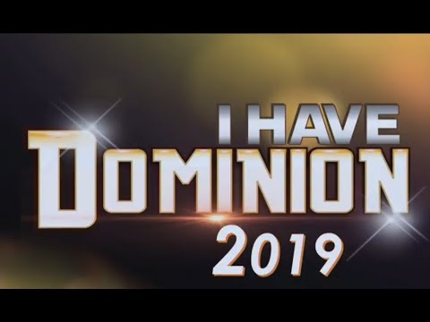 DOMINION SERIES (8) #SHILOH2018 #YEAR2019 #IHAVEDOMINION #ITAKEDOMINION