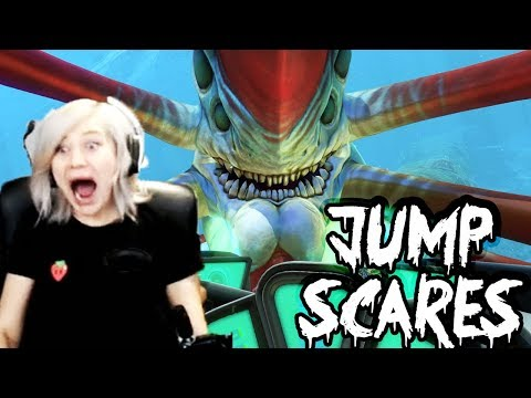 Top Moments of Jump Scares | Subnautica (видео)