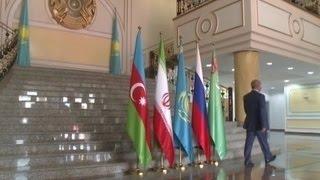 Главы МИД прикаспийских государств обсуждают правовой статус Каспия