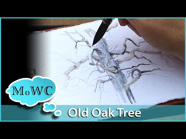 Painting-an-old-oak-tree