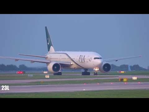 PIA Pakistan International Airlines AP-BGL B772 PK702 Manchester To Islamabad 23/10/2019