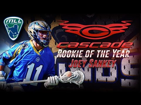 Highlights: Joey Sankey Named Cascade MLL Rookie of the Year