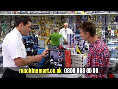 Machine Mart TV Advert Autumn Winter 2010-11