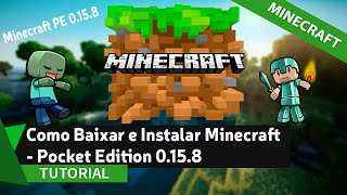 Minecraft Pocket Edition v0.15.8 apk , última versão 0.15.8 MCPE android, apk Minecraft PE versão completa 0.15.8, Baixar Minecraft – Pocket Edition v0.15.8 oficial APK. ___________________________________________________________✔ SE GOSTOU DO VÍDEO, DEIXE SEU LIKE!Versão 0.17.0: https://www.youtube.com/watch?v=9itWQwgMSbE• Download do Minecraft: http://bit.ly/2cKUQ5C•Meu WhatsApp: 83 986511033✔ INSCREVA-SE____________________________________________________________• Grupo no Facebook: https://www.facebook.com/groups/mdtut...• Página do Facebook: https://www.facebook.com/mdtutoriais• Twitter: https://twitter.com/MDTutoriaisbr• Google +: https://plus.google.com/u/0/+MatheusD...• Email (Contato Profissional): mddownscontato@hotmail.com• Meu Site: http://www.melhordownload.com• Curtiu o vídeo? DEIXE SEU LIKE E FAVORITO! ____________________________________________________________✔ Parceiros• Heitor Brito - https://www.youtube.com/channel/UCzcp...✔ Horário dos Vídeos:• Terça - (18:00hr)• Quinta - (18:00hr)• Sábado - (16:00hr)