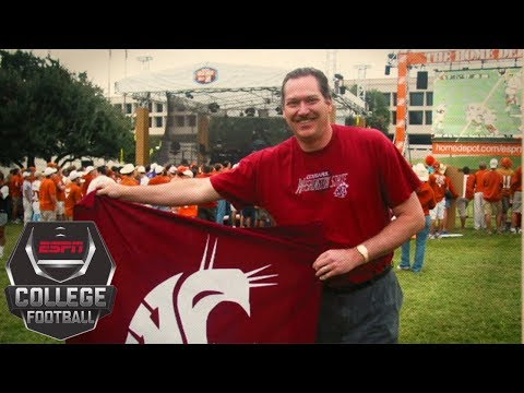 Washington State's Ol' Crimson flag and its college football legacy | College GameDay