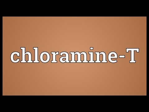 Chloramine-T Meaning