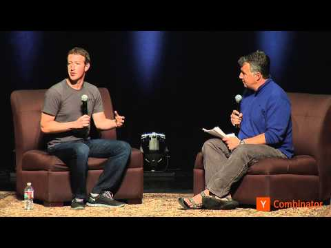 start up - Mark Zuckerberg at Startup School 2013.
