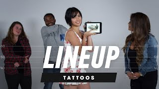 Video Which Tattoo Belongs to Which Person? | Lineup | Cut MP3, 3GP, MP4, WEBM, AVI, FLV April 2019