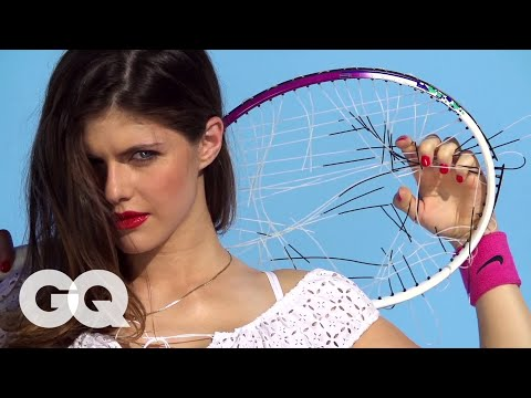Alexandra Daddario - She's never really been on a bad date (or had to use an exit strategy). Take her for a hike and she's happy. Her first date though? A little awkward. Watch G...