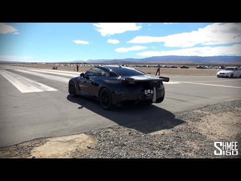 R - Things almost got a bit hairy for the ETS Nissan GT-R at Shift S3ctor as 1500hp early in the day made for some slipping around. However a few better runs after showed the power being put to...