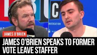 James O'Brien Speaks To Former Vote Leave Staffer Oliver Norgrove