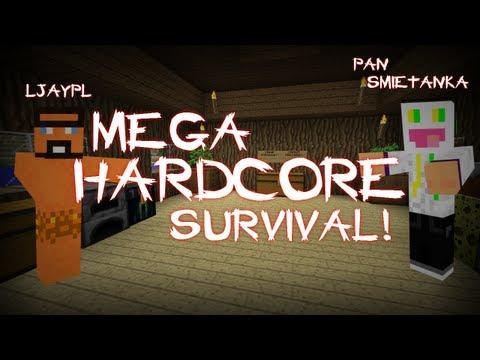 [#1] Minecraft - Pan Śmietanka z Jaskiniowcem - Mega Hardkorowy Survival