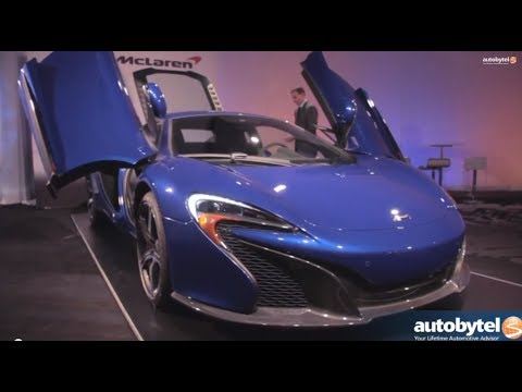 McLaren 650S Overview with Jamie Corstophine at the 2014 New York Auto Show