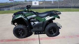 8. $4,299:  2017 Kawasaki Brute Force 300 in Timberline Green Overview and Review