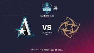 NiP vs  Team Aster, ESL  One Hamburg, bo2, game 1 [Adekvat & Frostnova]