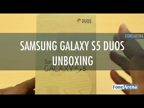Samsung Galaxy S5 Duos Unboxing