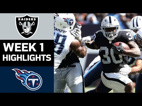 Raiders vs. Titans | NFL Week 1 Game Highlights - Thời lượng: 7:12.