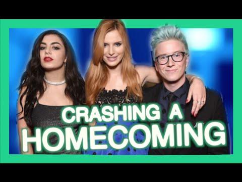 Crashing a Homecoming %7C Tyler Oakley