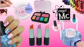 Video Project Mc2 Beauty Experiments H2O Nail Kit DIY Crayon lipsticks Lip Balms MP3, 3GP, MP4, WEBM, AVI, FLV Juli 2018