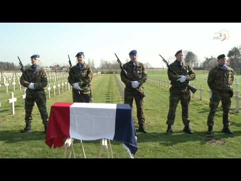 Un soldat français de 14-18 inhumé à Ypres
