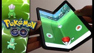 Pokémon GO on Folding Phone = SO MANY SHINIES!!!! by Unlisted Leaf