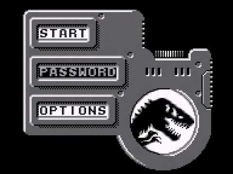 The Lost World : Jurassic Park Game Boy