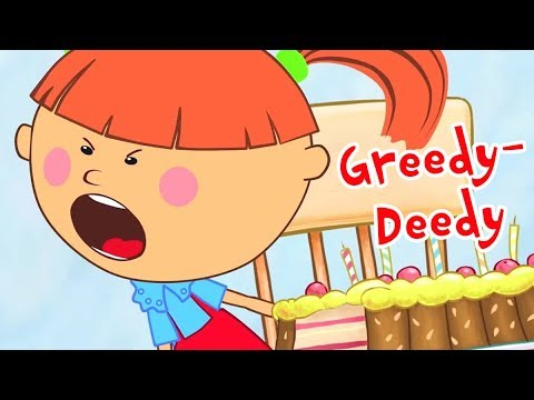 The Little Princess - Greedy-Deedy - New Animation For Children