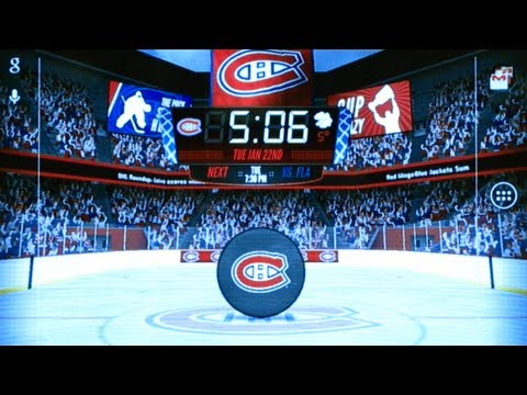 NHL 2013 Live Wallpaper trailer
