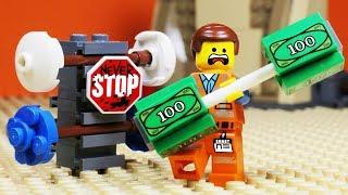 Video Lego Movie 2 Gym Money Fail  - Stop Motion Animation MP3, 3GP, MP4, WEBM, AVI, FLV Maret 2019