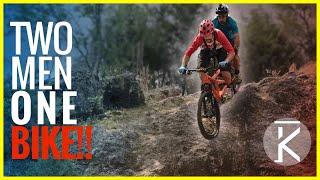 Seth Bike Hacks and Phil Kmetz take to the Santos fat tire festival on a Tandem Mountain Bike. Neither of us have ridden a ridden a Tandem Mountain bike and In this adventure things quickly get out of hand on this human velocipede! SUBSCRIBE ▶︎ https://goo.gl/xu5U0hSeth's Bike Hacks ▶︎ https://goo.gl/m1RU9mMTB Tandems  ▶︎  https://goo.gl/AAUYi4 Most Recent ▶︎ https://goo.gl/10Kw6dRemedy last Ride ▶︎ https://youtu.be/znEw3PIZAEE?list=PLKhb73W7eMREOqKUAP4u-qXKzvgUy0zGWEvil Calling ▶︎ https://www.youtube.com/watch?v=5irX8yVn0uw&list=PLKhb73W7eMREOqKUAP4u-qXKzvgUy0zGW&index=2Raleigh Tokul ▶︎ https://youtu.be/aR2oLA9mSXw?list=PLKhb73W7eMREOqKUAP4u-qXKzvgUy0zGWHuffy Carnage ▶︎ https://youtu.be/wkMnk_eCDQU?list=PLKhb73W7eMREOqKUAP4u-qXKzvgUy0zGWBunny Hop Tutorial  ▶︎ https://youtu.be/hdUGWeRQ2IU?list=PLKhb73W7eMRF1KO3T5Iz2pks-8SrLybw7Bike checksEvil Calling ▶︎https://youtu.be/5irX8yVn0uw?list=PLKhb73W7eMREOqKUAP4u-qXKzvgUy0zGWTrek Remedy ▶︎ https://youtu.be/7g0q-Ae8WWs?list=PLKhb73W7eMREOqKUAP4u-qXKzvgUy0zGWRaleigh Tokul ▶︎ https://youtu.be/3SvBviCq3fQ?list=PLKhb73W7eMREOqKUAP4u-qXKzvgUy0zGWDirt Jumper ▶︎ https://youtu.be/jxM8jlieg2A?list=PLKhb73W7eMREOqKUAP4u-qXKzvgUy0zGWSocialInstagram ▶︎  http://Philkmetz.com/instagramFacebook  ▶︎ http://Philkmetz.com/facebookTwitter ▶︎ http://Philkmetz.com/twitter Snapchat ▶︎ https://www.snapchat.com/add/philkmetzStrava ▶︎ https://www.strava.com/athletes/942089Support Skills with PhilPatreon ▶︎ https://goo.gl/8SHpPFT-shirts ▶︎ https://goo.gl/sS2hGJRiding GearHelmet ▶︎  http://amzn.to/2dNfYtlKnee Pads ▶︎ http://amzn.to/2dvc3UlShoes ▶︎  http://amzn.to/2dx9xMLSocks ▶︎ http://amzn.to/2dURuPBCamera GearPrimary GoPro ▶︎ http://amzn.to/2jGPKfDBackup GoPro ▶︎ http://amzn.to/2dhcZZJGoPro AccessoriesGoPro Stabilizer  ▶︎  http://amzn.to/2iBxZAPHandlebar Mount ▶︎ http://amzn.to/2jGU6TRChest Mount ▶︎ http://amzn.to/2jQK1pXBackpack ▶︎ http://amzn.to/2jOpySa-----------Music: