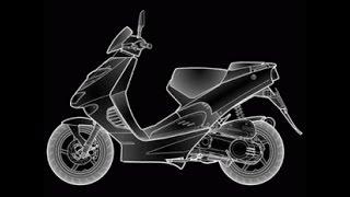 9. Aprilia 50cc engine. �юан�ы �борки.