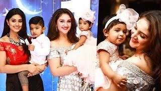 Sridevi Vijaykumar's girl baby celebrated the first birthday and it was that a grand affair! Watch the whole family celebrate the ...