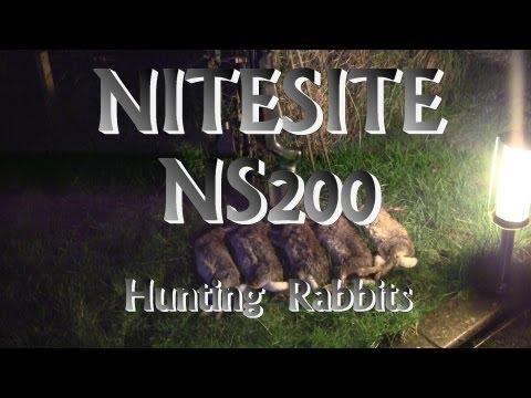 Air Rifle Hunting, Nitesite Rabbit Hunt, 2012 (видео)