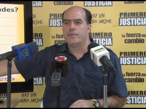Julio Borges: Este Gobierno ha hecho que cada familia venezolana deba más de 1 millón 570 mil bolívares