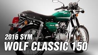 3. 2016 SYM Wolf Classic 150 Spec